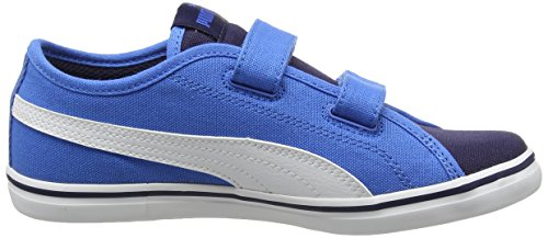 Puma Elsu V2 Cv V Ps, Zapatillas Unisex Niños Azul (Peacoat-puma White 10)