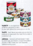 Max Cat Seafood and Tomato Bisque Chunks in Sauce Cat Food Cans, 3-Ounce, 24 pack cans, My Pet Supplies