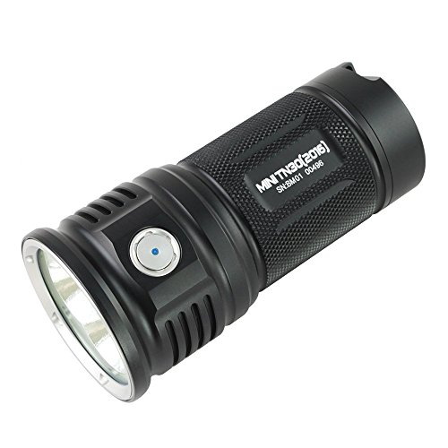 ThruNite MINI TN30 3660 Lumens Triple Cree XP-L V6 LEDs Torch Sustainable Turbo Mode Best Choice of 3000 Lumen Flashlight! (MINI TN30 XPL CW)