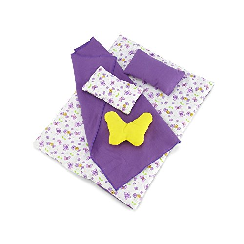 Doll Accessories Reversible Butterfly Comforter product image