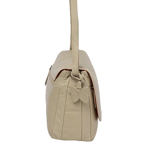 Ashwood Leather, Borsa a zainetto donna beige Beige