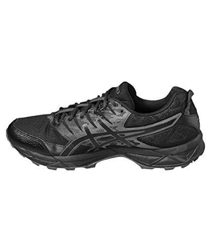 Asics Hommes Piste Gel Sonoma 3 G-tx Chaussures De Course, Noir Noir (200)