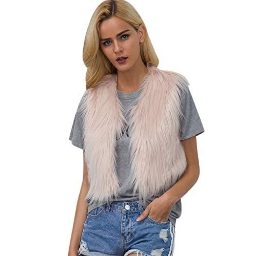 Overcoat Parka Warm Coat Streetwear Jacket Women Thicken Pink Hooded Casual 3 Fur Faux Loose TUDUZ Outwear Cardigan zYxqv