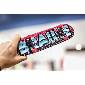 Amazon.com: Braille Skateboarding mano patines: Toys & Games