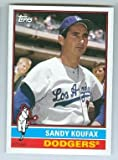 Sandy Koufax baseball card (Los Angeles Dodgers) 2015 Topps Archives #150
