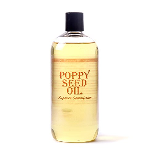 Poppy 100 Seeds - Mystic Moments | Poppy Seed Carrier Oil - 500ml - 100% Pure