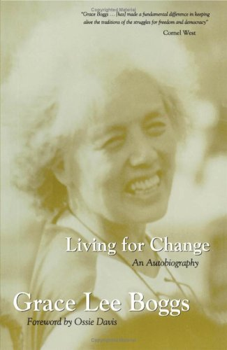 Cover of Living for Change: An Autobiography