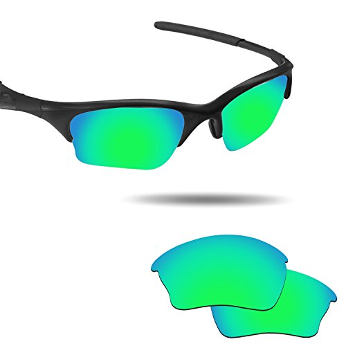 Fiskr Anti-saltwater Replacement Lenses for Oakley Half Jacket XLJ(not Half Jacket) Sunglasses by Fiskr