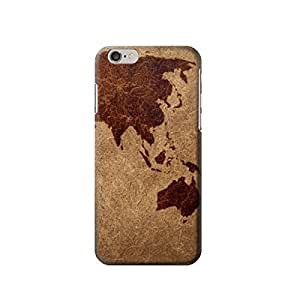 """Asia Map 4.7 inches Iphone 6 Case,fashion design image custom iPhone 6 4.7 inches case,durable iphone 6 hard 3D case cover for iphone 6 4.7"""", iPhone 6 Full Wrap Case"""