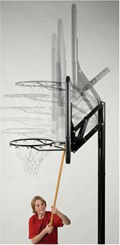 Lifetime 1079 Height Adjustable In Ground Basketball System, 48 Inch Shatterproof Backboard by Lifetime