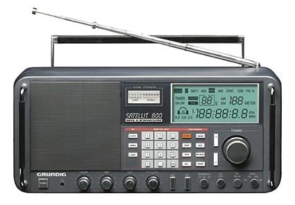 amazon com eton satellit 800 millennium shortwave radio rh amazon com Grundig Majestic 1960s Grundig Stereo Console