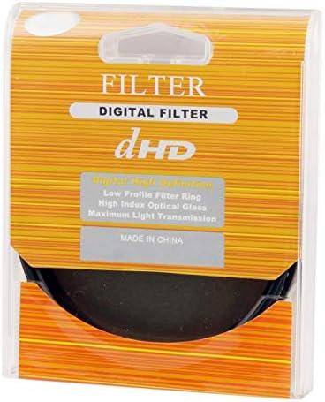 Camera Filters Black Camera /& Photo 72mm ND Fader Neutral Density Adjustable Variable Filter ND 2 to ND 400 Filter