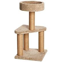AmazonBasics Cat Activity Tree with Scratching Posts, Medium