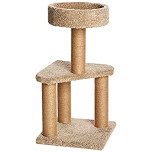 AmazonBasics Cat Activity Tree with Scratching Posts 26