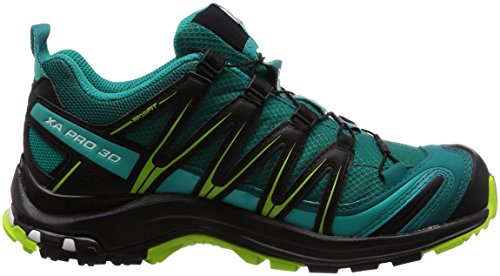 Lime Salomon Gtx W Green Calzado Azul 3d Trail Xa Mujer Running Black Lake deep De Pro Para qCnBZ4q