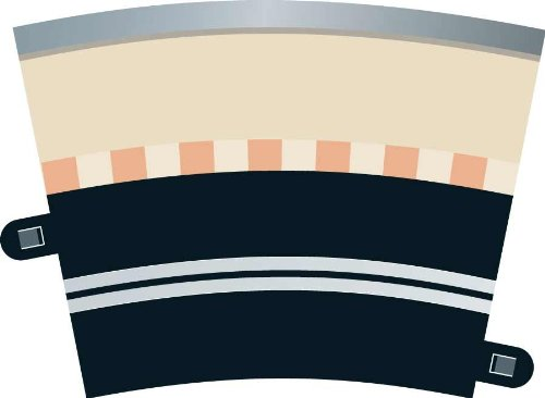 Scalextric C7017 Digital Track Single Lane Curve by Scalextric