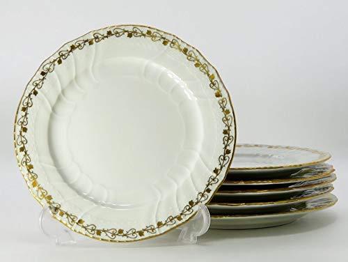 KPMベルリン プレート■ノイオジール Neuosier デザートプレート 皿 6枚セット ベルリン王立磁器製陶所 1級品   B07NX5TS5D