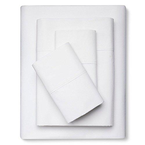 Threshold Organic Sheet Set - White (King) (Sheet Set Target)