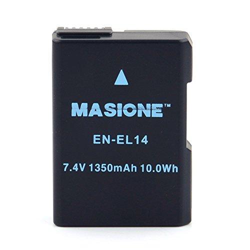 Masione Rechargeable EN EL14 Battery EN EL14a