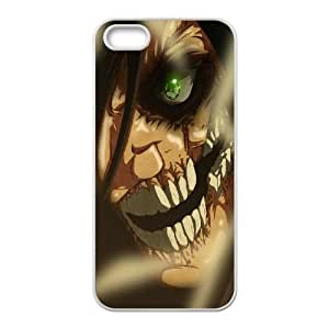 Attack On Titan iPhone 4 4s Cell Phone Case White gift zhm004-9272630