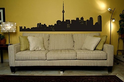 Amazon.com: Toronto Skyline, Urban Wall Decals, Urban Wall ...