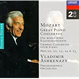 Mozart: Great Piano Concertos. Nos 20,21,23,24,25
