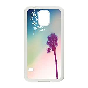 she laughs without fear of future Design Top Quality DIY Hard Case Cover for SamSung Galaxy S5 I9600, she laughs without fear of future Galaxy S5 I9600 Phone Case
