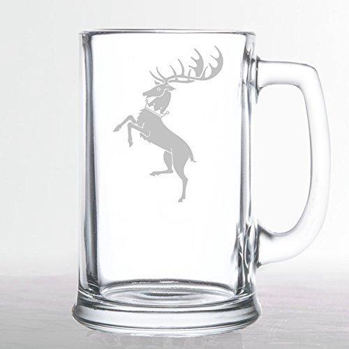 Game of Thrones - House Baratheon - Etched Beer Mug