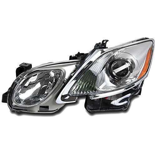 ZMAUTOPARTS 2006-2011 Lexus GS Series Chrome Projector Headlight Headlamp Driver Side