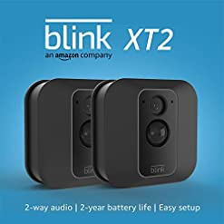 Blink XT2 | Outdoor/Indoor Smart Security Camera with Cloud Storage, 2-Way Audio, 2-Year Battery Life | 2-Camera System