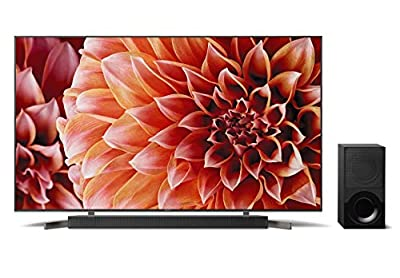Sony XBR55X900F 55-Inch 4K Ultra HD Smart LED TV X9000F 2.1ch Soundbar with Dolby Atmos and Wireless Subwoofer (HT-X9000F)