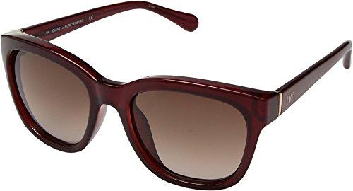 Diane von Furstenberg Women's DVF612SL Red One Size -