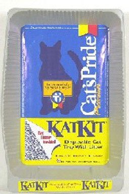 Disp Box - Oil Dri #C01660 5PK Disp Litter Pan