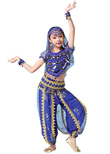 ORIDOOR India Bollywood Costume Belly Dancing Suit for