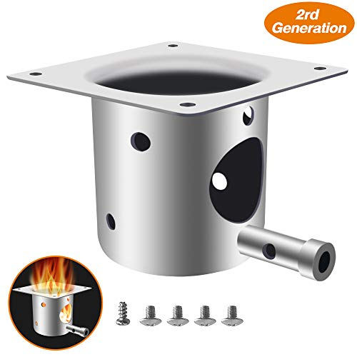 ANGINSTAR Fire Burn Pot Replacement Parts for Traeger and Pit boss Pellet Grill Burner ()