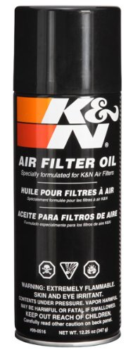 Price comparison product image K&N 99-0516 Air Filter Oil - 12.25 oz. - Aerosol