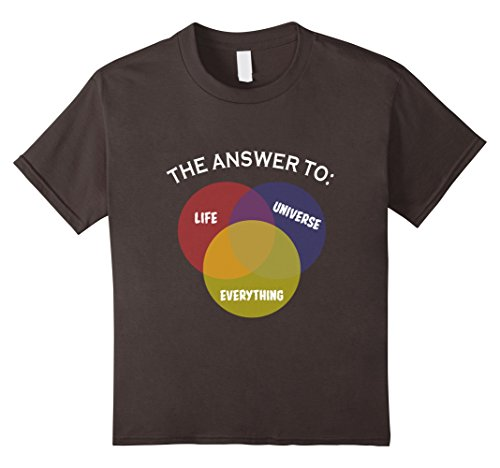 Metal Costume Movie Heavy (Kids The Answer To Life Universe Everything Science T-Shirt 10)