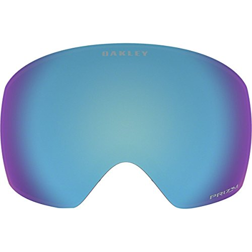 Oakley 101-423-001 Flight Deck Replacement Lens, Prizm Sapphire - Goggles Deck Flight Oakley