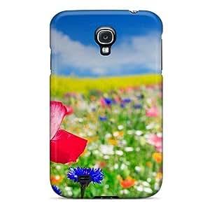 Bernardrmop JTcUhNs2102kpYXh Case Cover Galaxy S4 Protective Case Poppy Flowers