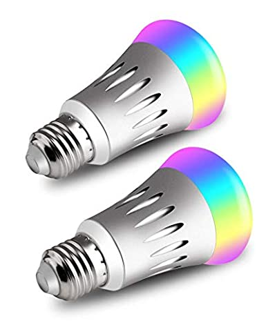 Wifi Smart Led Bulb Light Dimmable Rgbw A19 16+million Colours Led Bulb With Amazon Alexa And Google Home Elegant Shape Led Bulbs & Tubes Back To Search Resultslights & Lighting