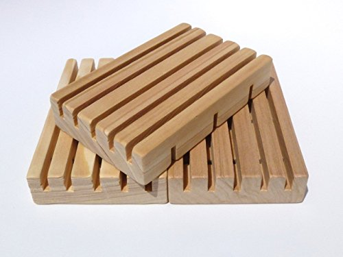 3 Piece Set of Solid Cypress Soap - Wood Cypress