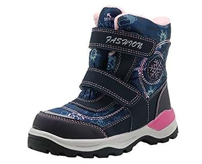Amazon.com | Apakowa Kids Girls Waterproof Hiking Boots