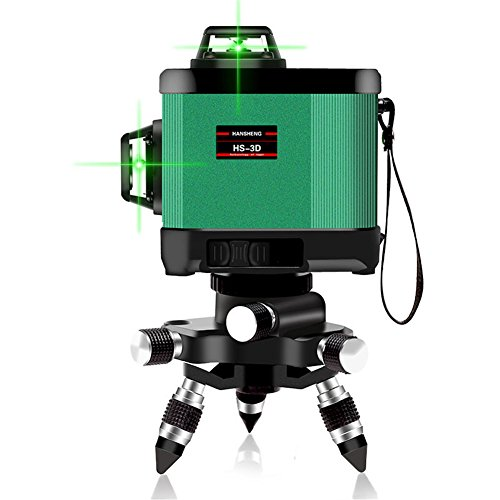 Self-Leveling 360 Laser Level-Cross Line 160ft/50m Outdoor Green Beam,Multi-Use Self-Leveling Alignment Laser Level