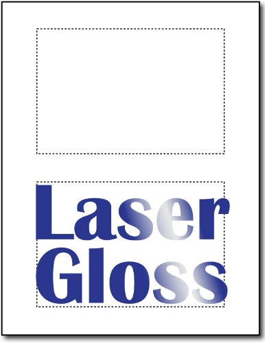Desktop Publishing Supplies Post cards Laser Photo Gloss ...