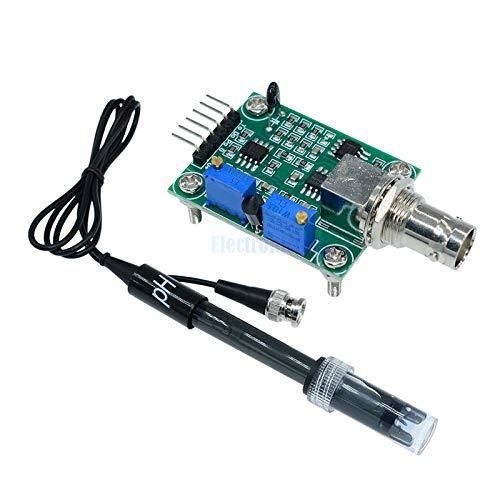 Detection Liquid Sensor (Liquid PH Value Detection detect Sensor Module Monitoring Control Board for Arduino BNC Electrode Probe Controller)