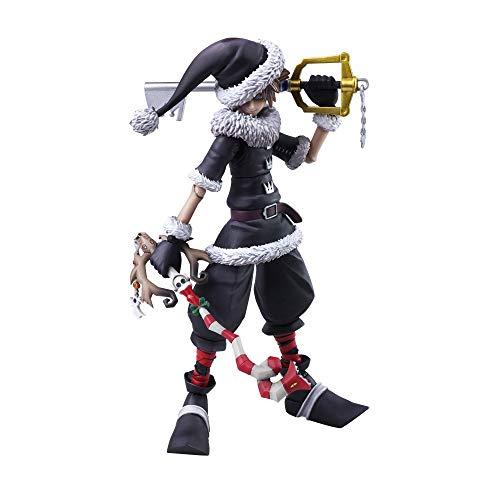 SQUARE ENIX Kingdom Hearts II Sora Christmas Town Version Bring Arts Action Figure