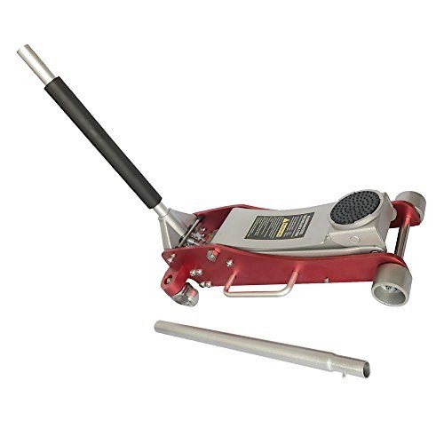 Lowest Price! 3 Ton 6000Lb Aluminum Racing Car Auto Floor Jack Low Profile Rapid Pump Lift