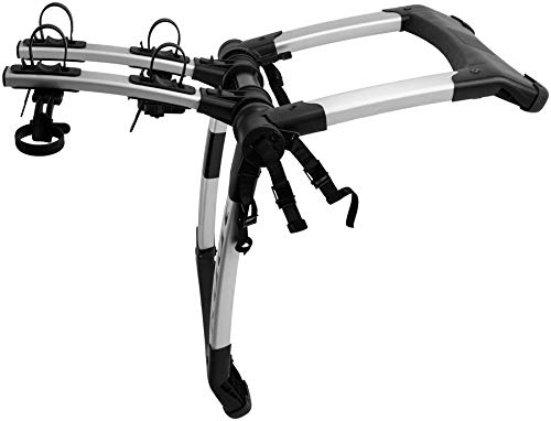 Kuat Highline Trunk Bike Rack Carrier (2 Bike, Black/Silver)