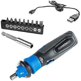 HAMMERHEAD 4V Lithium Rechargeable Screwdriver