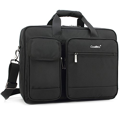 Best Overall: CoolBell 17.3-Inch Laptop Briefcase